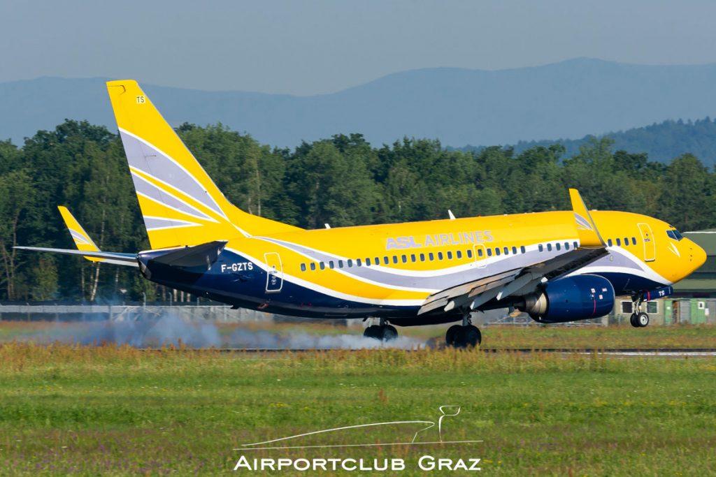 ASL Airlines France Boeing 737-73V F-GZTS