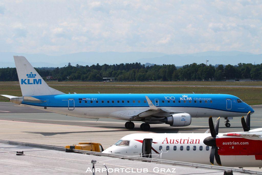 KLM Cityhopper Embraer 190 PH-EXY