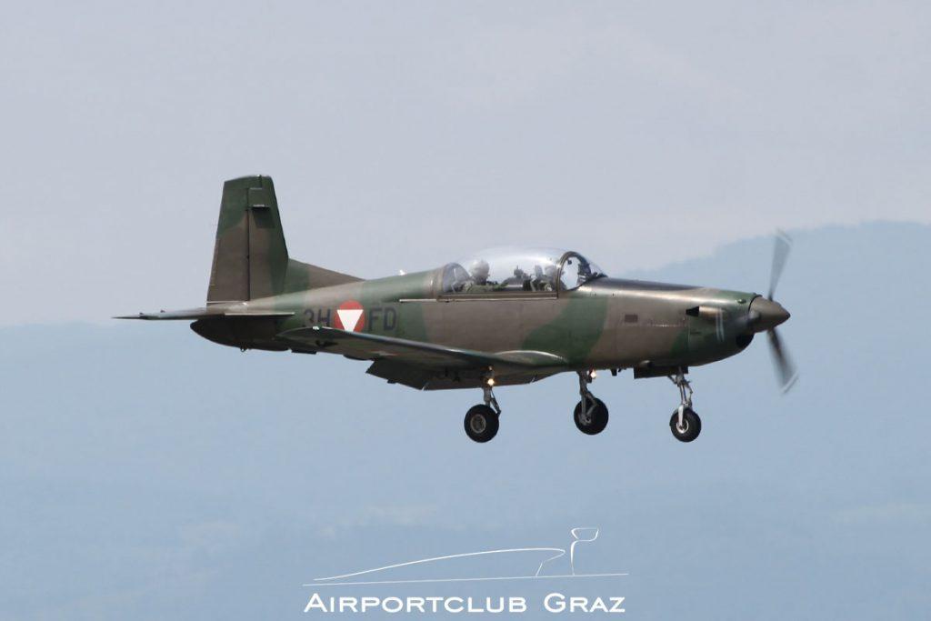 Bundesheer Pilatus PC-7 3H-FD
