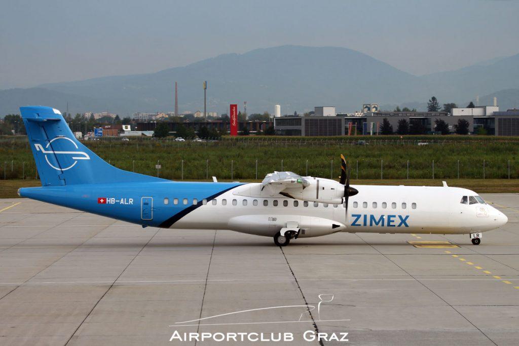 Zimex Aviation ATR 72-212A HB-ALR