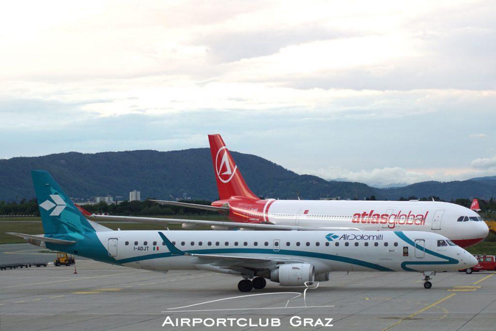 Air Dolomiti Embraer 195 I-ADJT