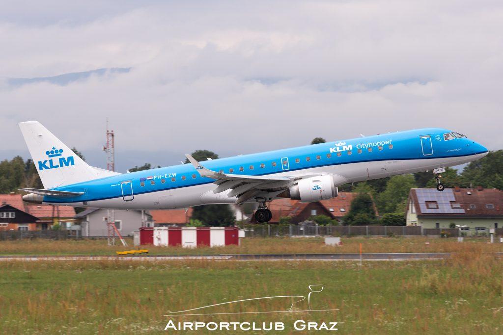 KLM Cityhopper Embraer 190 PH-EZW