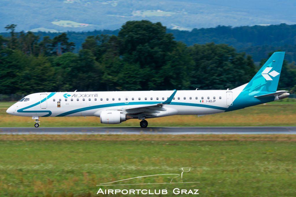 Air Dolomiti Embraer 195 I-ADJP