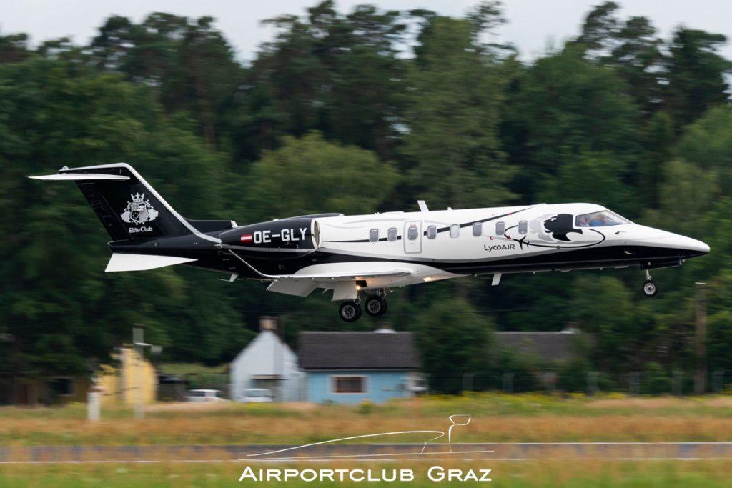 Lycoair Learjet 75 OE-GLY