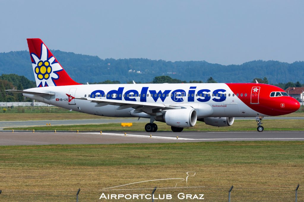 Edelweiss Airbus A320-214 HB-IJV