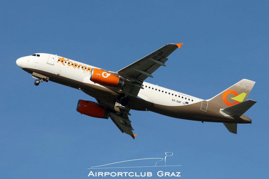 Orange2fly Airbus A320-232 SX-SOF