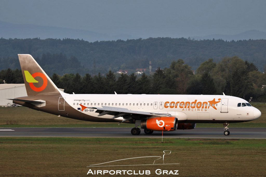 Orange2fly Airbus A320-232 SX-SOF