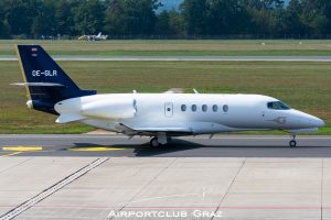 Goldeck Flug Cessna Citation Latitude OE-GLR