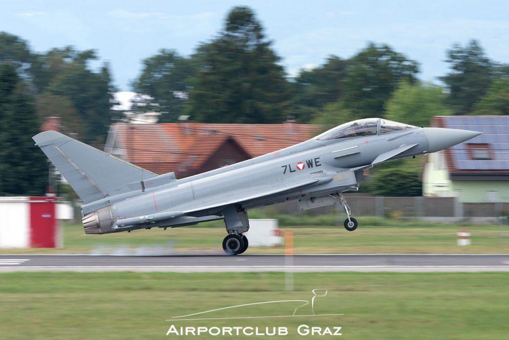 Bundesheer Eurofighter Typhoon EF2000 7L-WE