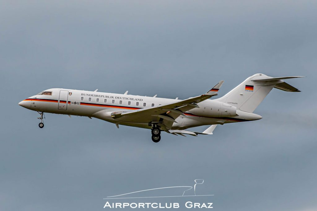 German Air Force Bombardier BD-700-1A11 Global 5000 14+02