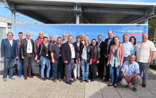 Tagung der Flughafenfreunde in Innsbruck