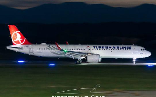 Airbus A321neo Typenerstlandung