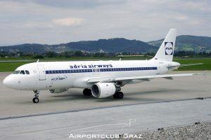Adria Airways Airbus A320-211 S5-AAT
