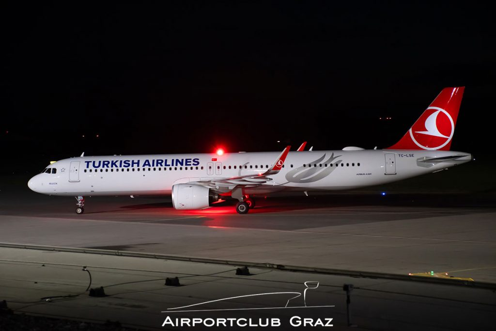 Turkish Airlines Airbus A321-271NX TC-LSE