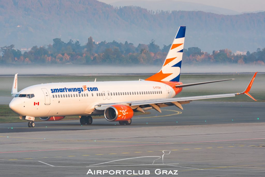 Sunwing Airlines Boeing 737-8HX C-FTOH