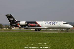 Adria Airways CRJ-200LR S5-AAF