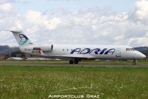 Adria Airways CRJ-200ER S5-AAJ