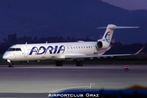 Adria Airways CRJ-900LR S5-AAL