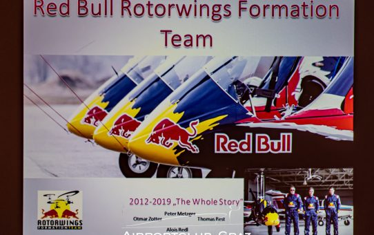 Clubabend Rotorwings Formation Team