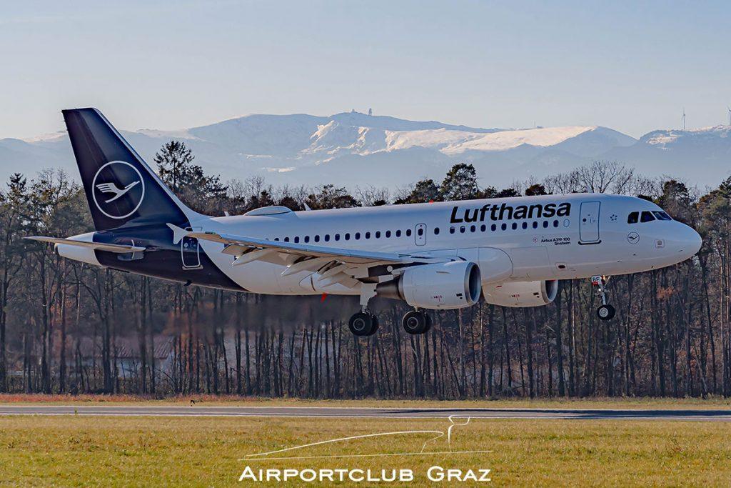 Lufthansa Airbus A319-112 D-AIBF