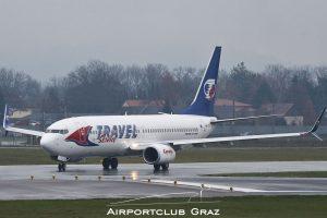 Travel Service Boeing 737-86N OK-TVT