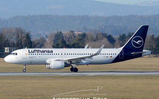 Mit Lufthansa nach Frankfurt