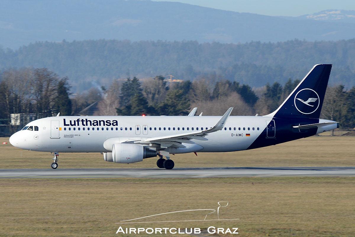 Lufthansa Airbus A320-214 D-AIWC