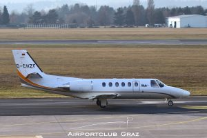 Tyrol Air Ambulance Cessna 550B Citation Bravo D-CHZF
