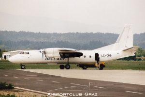 Heli Air Services Antonov An-24RV LZ-CBB