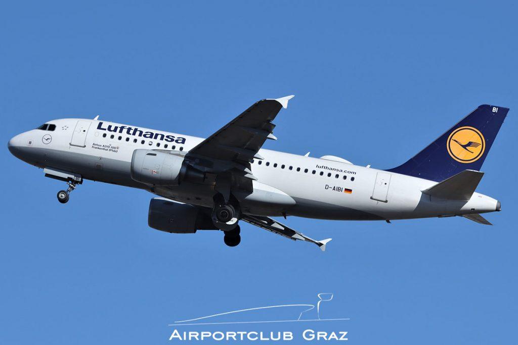 Lufthansa Airbus A319-112 D-AIBI