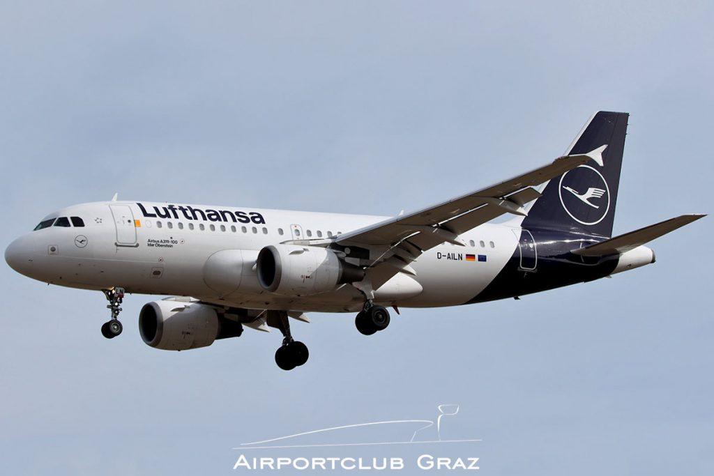 Lufthansa Airbus A319-114 D-AILN
