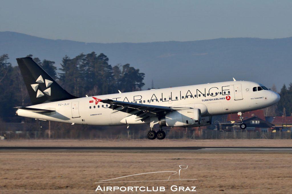 Turkish Airlines Airbus A319-132 TC-JLU