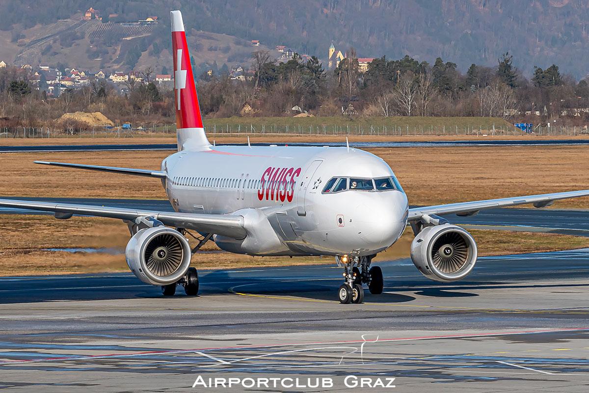 Swiss Airbus A320-214 HB-IJI