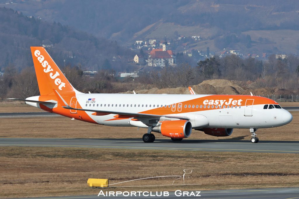 easyJet Airbus A320-214 OE-IZH