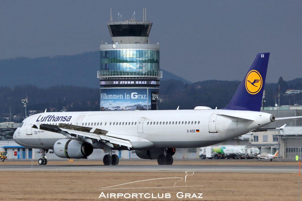 Lufthansa Airbus A321-231 D-AISX