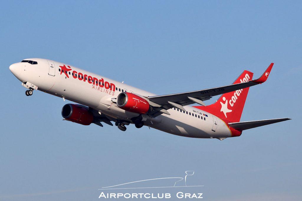 Corendon Airlines Boeing 737-8FH 9H-TJB