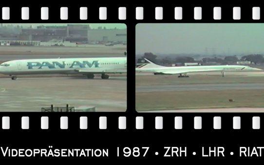 Videopräsentation 1987 sowie Jahresrückblick von Mag. Widmann