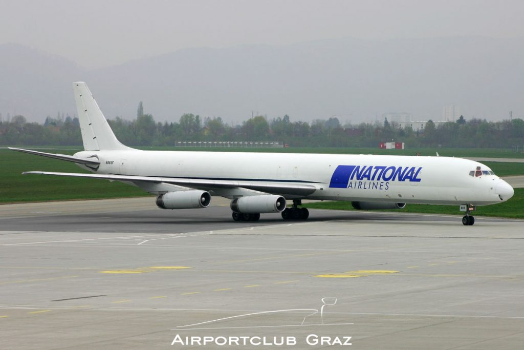 National Airlines Douglas DC-8-63CF N865F