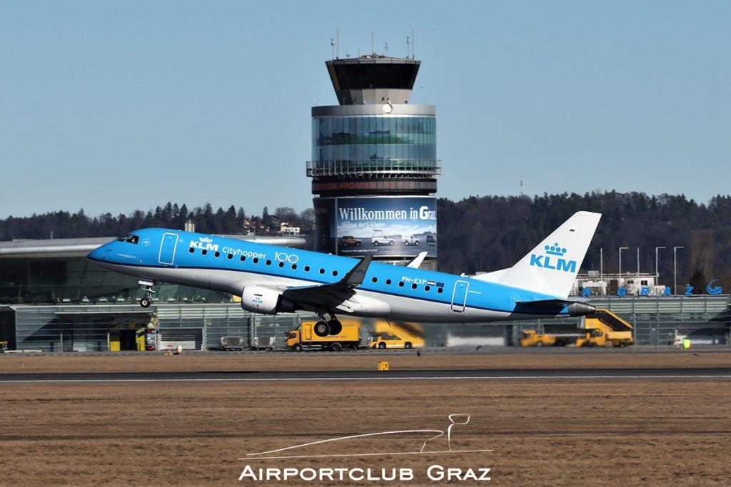 KLM Cityhopper Embraer 175 PH-EXP