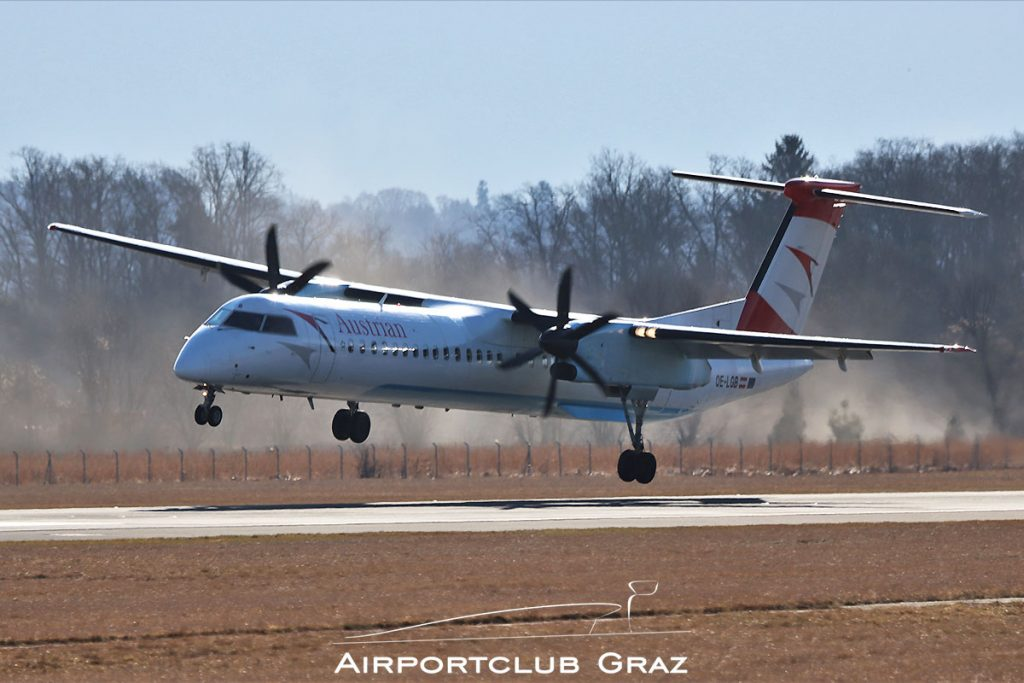 Austrian Airlines Q400 OE-LGB