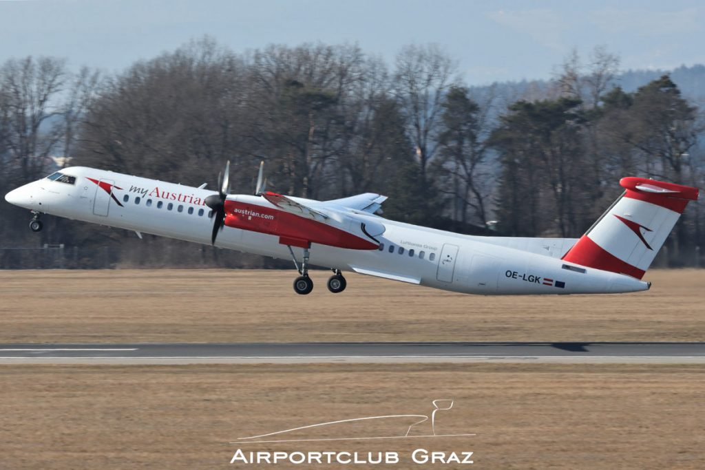 Austrian Airlines Q400 OE-LGK