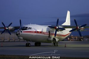 Meridian Aviation Antonov An-12B UR-CGW