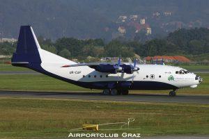 Shovkoviy Shlyah Airlines Antonov An-12TB UR-CAF