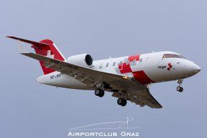REGA Bombardier CL-600-2B16 Challenger 650 HB-JWB