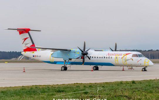 Austrian Airlines Q400 eingemottet