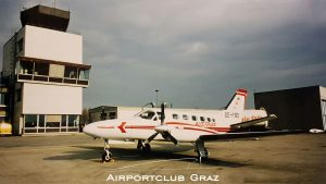 Austrian Airlines Cessna 441 OE-FBD