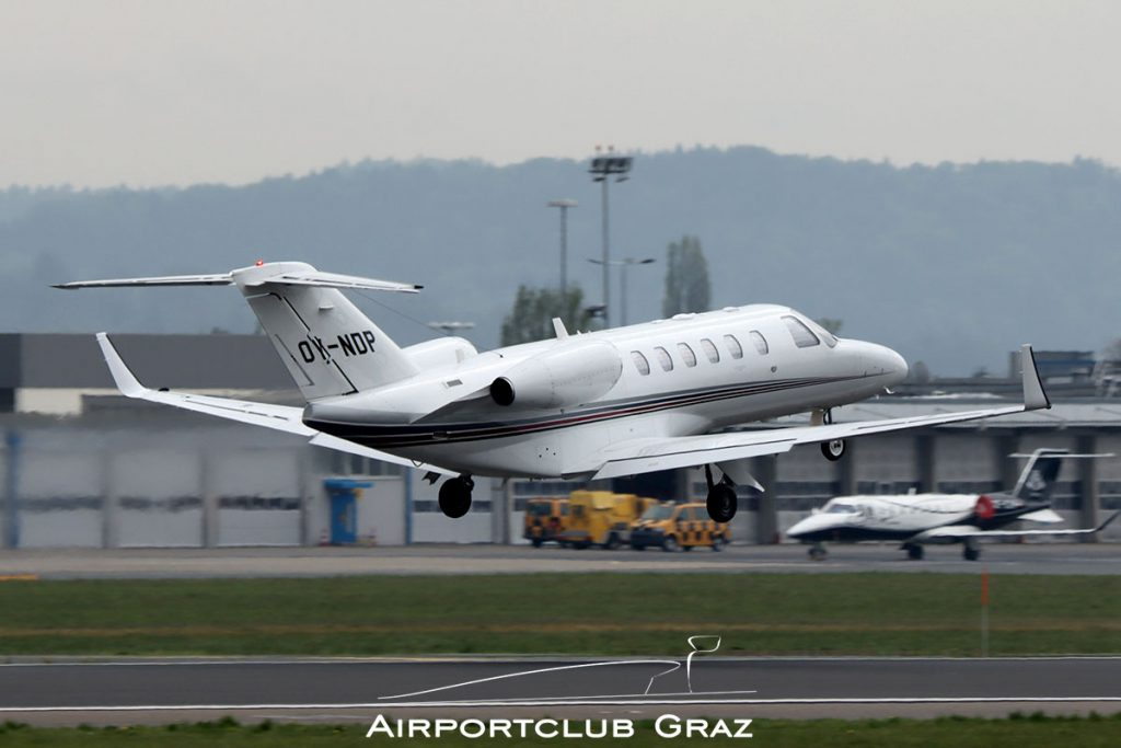 Flygac Cessna 525A CitationJet CJ2+ OY-NDP