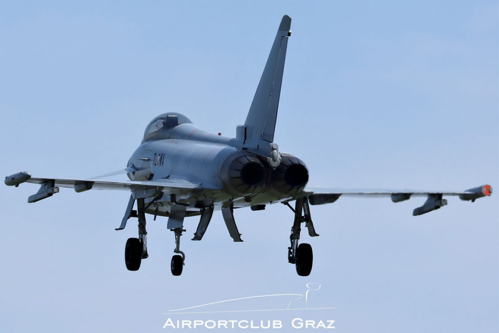 Bundesheer Eurofighter Typhoon EF2000 7L-WA