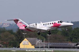 Pink Sparrow Cessna 525A CitationJet CJ2 OE-FSP