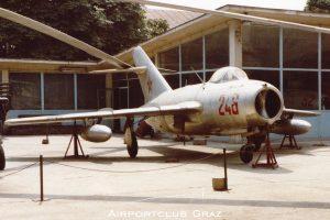 Russian Air Force Mikoyan-Gurevich MiG-15 246